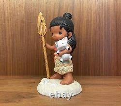 Precious Moments-Disney's Moana And Pua Pig-Hawaiian Girl-Island-Find Your Way