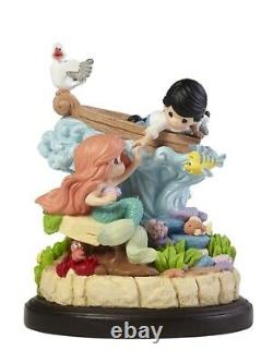 Precious Moments Disneys The Little Mermaid Part Of Your World Musical Figurine