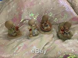 Precious Moments Disneys Winnie The Pooh Lot Of 5 NWOB