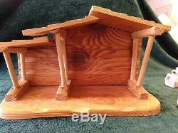 Precious Moments E2395 Mini Nativity 11 Pc Set Figurines With Manger 1982NWOB