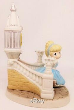 Precious Moments EVEN MIRACLES TAKE A LITTLE TIME 153015 Disney Cinderella LE