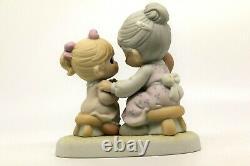 Precious Moments EVERYBODY'S GRANDMOTHER 111752 Grandma with kids / CE RARE