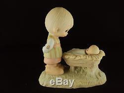 Precious Moments, E-2011, Come Let Us Adore Him, No Mark, No Box, RARE 1978