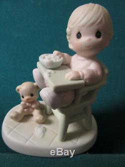 Precious Moments Enesco Lot Of 9 Figurines 5/5 1/2 No Boxes Inspirational