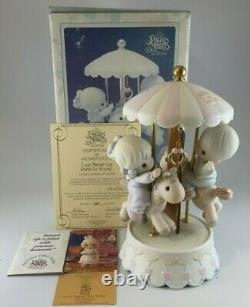 Precious Moments Exclusive Love Makes The World Go'Round 139475 Ship NEW