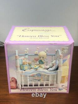 Precious Moments Expressions Heaven Bless You Action Musical 1993 New in Box