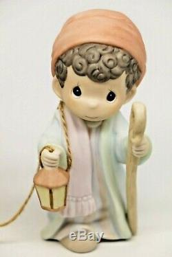 Precious Moments FLIGHT INTO EGYPT 455970 Large Nativity Addition / Set of 2