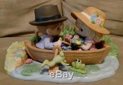 Precious Moments Figure 173002 You Make My Heart Leap, Limited Edition, NIB