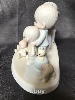 Precious Moments Figurine God Bless Our Years Together New In Box Rare12440 Vint