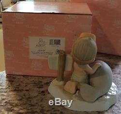 Precious Moments Figurine Our Love Will Never Be Endangered 2000 Manatee
