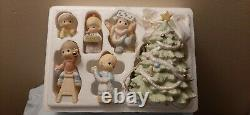 Precious Moments Figurine Wishing You An Old Fashioned Christmas Set Of 6