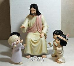 Precious Moments Figurine pm 127930a, (Jesus and the Children), 127930a withbox