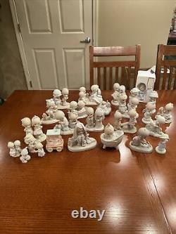 Precious Moments Figurines Lot Of 26