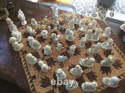 Precious Moments Figurines lot of 40