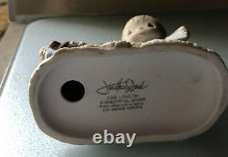Precious Moments God Loveth A Cheerful Giver Figurine Unmarked Original 21
