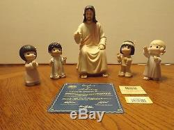 Precious Moments He Shall Lead the Children Into the 21st Century MIB withCert