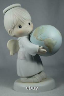 Precious Moments'He's Got The Whole World In His Hands' LE Easter #526886 InBx