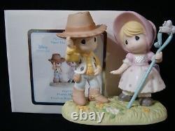 Precious Moments-Howdy Ma'am-Little Bo Peep-Sheriff Woody-Disney's Toy Story