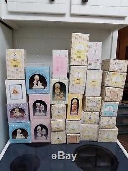 Precious Moments Huge Lot/extremely Rare 28pc Lot/no Duplicates! Over $1600