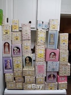 Precious Moments Huge Lot/extremely Rare 36pc Lot/no Duplicates! Over $2075
