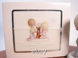 Precious Moments I Count My Blessings Everyday With You Couple/Gumball Machine