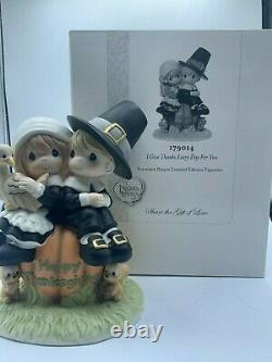 Precious Moments I Give Thanks Every Day For You, Limited Edition 179014 Boxed