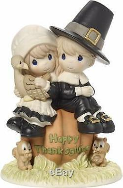 Precious Moments I Give Thanks Every Day For You Pilgrim Thanksgiving 179014