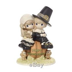 Precious Moments I Give Thanks Every Day For You Pilgrim Thanksgiving Couple