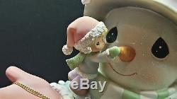 Precious Moments Illuminated Snowman Limited Edition