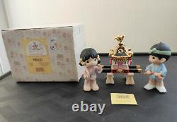 Precious Moments Japanese 3-piece set Everybody Has A Part (731625)