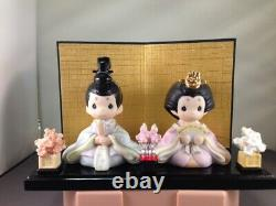 Precious Moments Japanese ALL GIRLS ARE BEAUTIFUL COMPLETE SET WithGLASS CASE