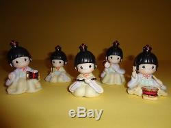 Precious Moments Japanese Rhythm and Flute 791091 MIB