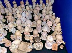 Precious Moments LARGE LOT of 60 Figures, Very Good Condition, NO BOXES