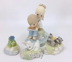 Precious Moments LOVE GOES ON FOREVER 149003 Chapel Event Exclusive Set of 4