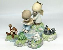 Precious Moments LOVE GOES ON FOREVER 149003 Chapel Event Exclusive / Set of 5