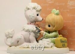 Precious Moments LOVING, CARING AND SHEARING 898414 Limited Edition / Poodle