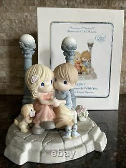 Precious Moments Life Is Beautiful With You 143027 Limited Edition Rare
