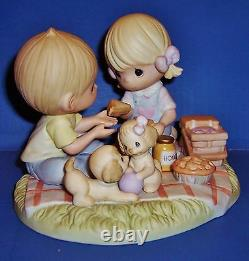 Precious Moments Life's A Picnic With My Honey Limited Edition 3000