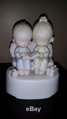 Precious Moments Lot 1976-1984 Figurines, Nativity & Musicals