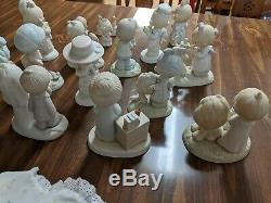 Precious Moments Lot Of 24 In Excellent Condition