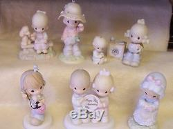 Precious Moments Lot Of 37 Figurines Excellent Condition 1975-2002