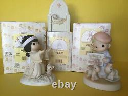 Precious Moments Lot of 27 Figurines ALL ARE CHAPEL EXCLUSIVES MANY RARE