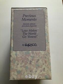 Precious Moments Love Makes the World Go Round Carousel (139475) with COA NRFB