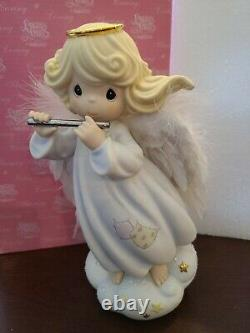 Precious Moments Lt Ed 9 Angel It Came Upon A Midnight Clear Tree Topper 928585