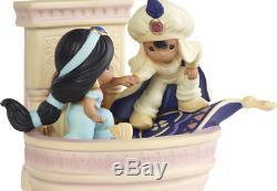 Precious Moments Ltd Ed 192012 Disney Showcase Aladdin and Jasmine A Magical