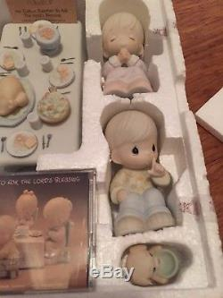 Precious Moments MIB Retired Thanksgiving 6 Piece Set We Gather Together
