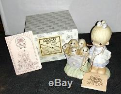 Precious Moments MINT GOD LOVETH A CHEERFUL GIVER, E1378 No Mark Original Box
