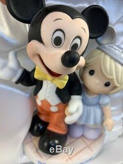 Precious Moments-Mickey Mouse-Disney Theme Park-Where Dreams Come True 790010 NI