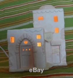 Precious Moments Nativity Addition Lighted Inn #283428 Enesco 1997