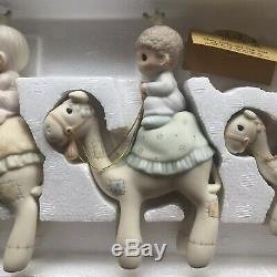 Precious Moments Nativity They Followed The Star Three Wise Men Christmas Xmas